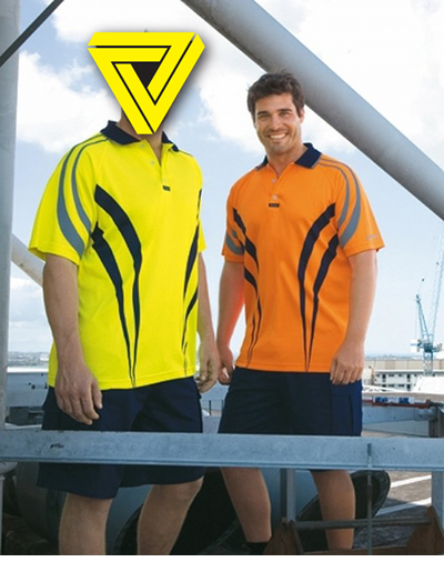 CVPAS Charger Airwear Polo Short Sleeve