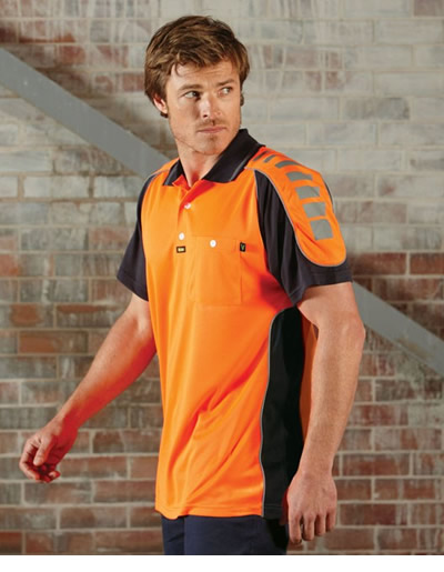 V1000 Chief Microfibre Polo Short Sleeve