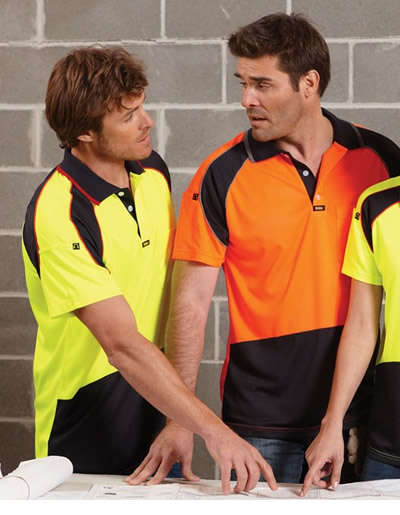 V1002 Energy Microfibre Polo - Men's Short Sleeve