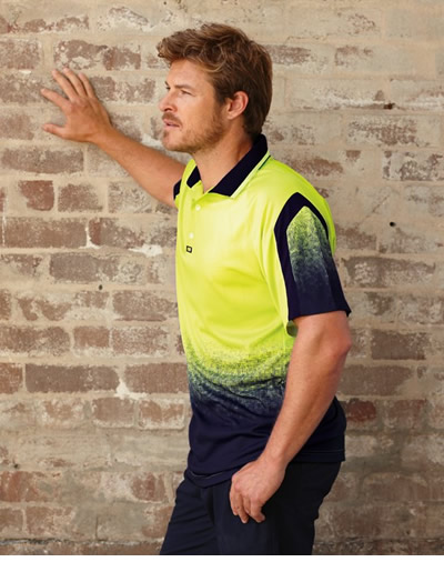 V1010 Matrix Airwear Polo Short Sleeve