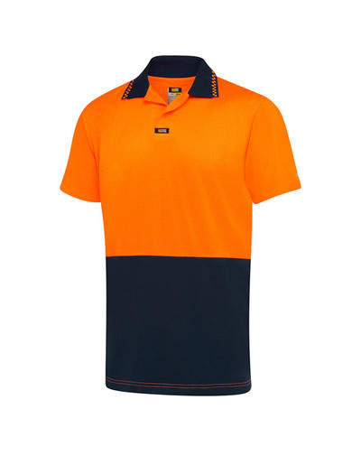 V1024 S/S Airwear Non Button Polo