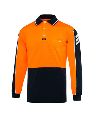 V2031 Arrow Airwear Polo L/S